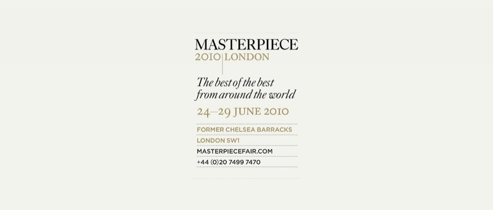 VACHERON CONSTANTIN AT MASTERPIECE LONDON - Big