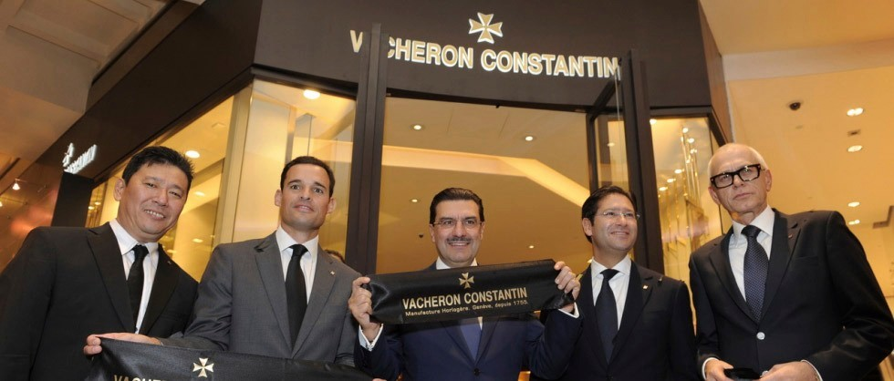Inauguration de la boutique Vacheron Constantin à Singapour - Big