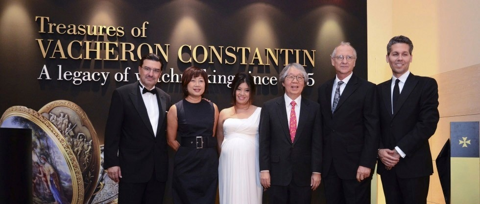 A SPLENDID OPENING CELEBRATION OF THE MANUFACTURE'S EXCEPTIONAL WATCHMAKING HERITAGE EXHIBITION AT THE NATIONAL MUSEUM OF SINGAPORE - Big