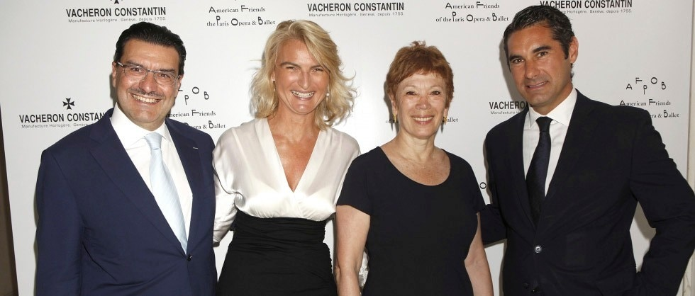 Vacheron Constantin and the American Friends of the Paris Opera & Ballet host Luncheon in Honor of Brigitte Lefèvre - Big