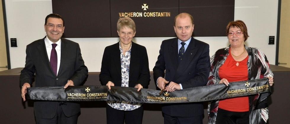 Inauguration of a new watch component manufacturing facility in the Vallée de Joux - Big