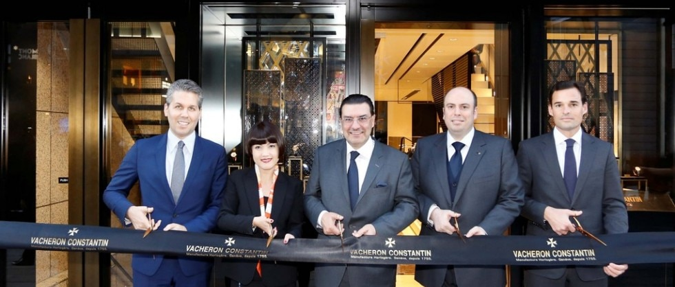 FIRST VACHERON CONSTANTIN BOUTIQUE IN JAPAN - Big