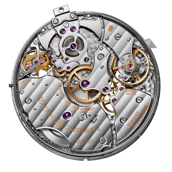 Vacheron Constantin Movement 1731 minute repeater