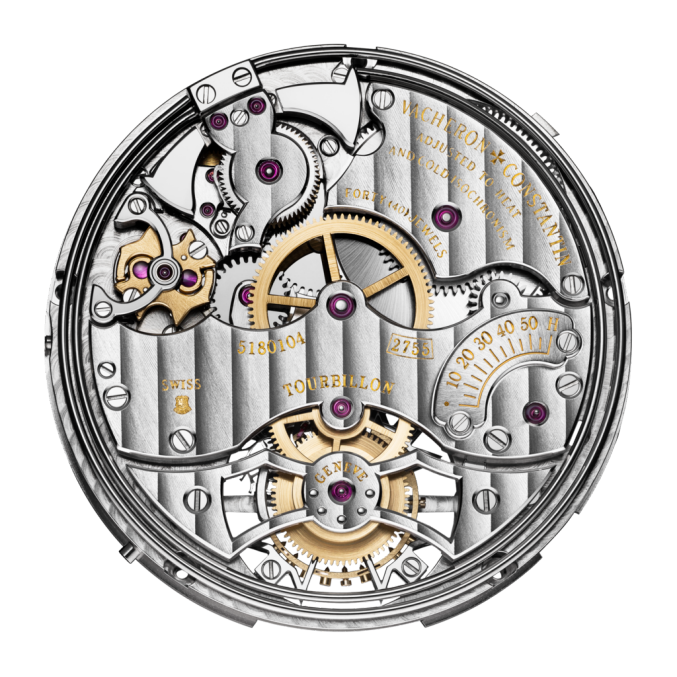 Vacheron Constantin Caliber 2755 Tourbillon Minute repeater