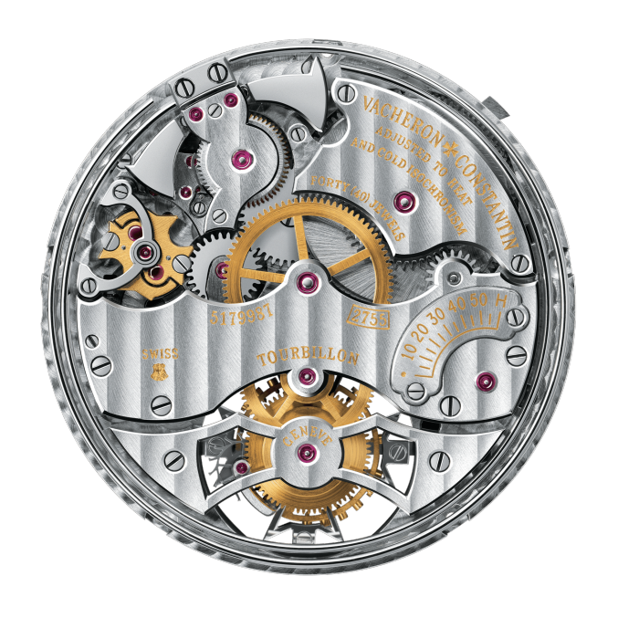 Vacheron Constantin Movement 2755 - Tourbillon Minute repeater Perpetual calendar