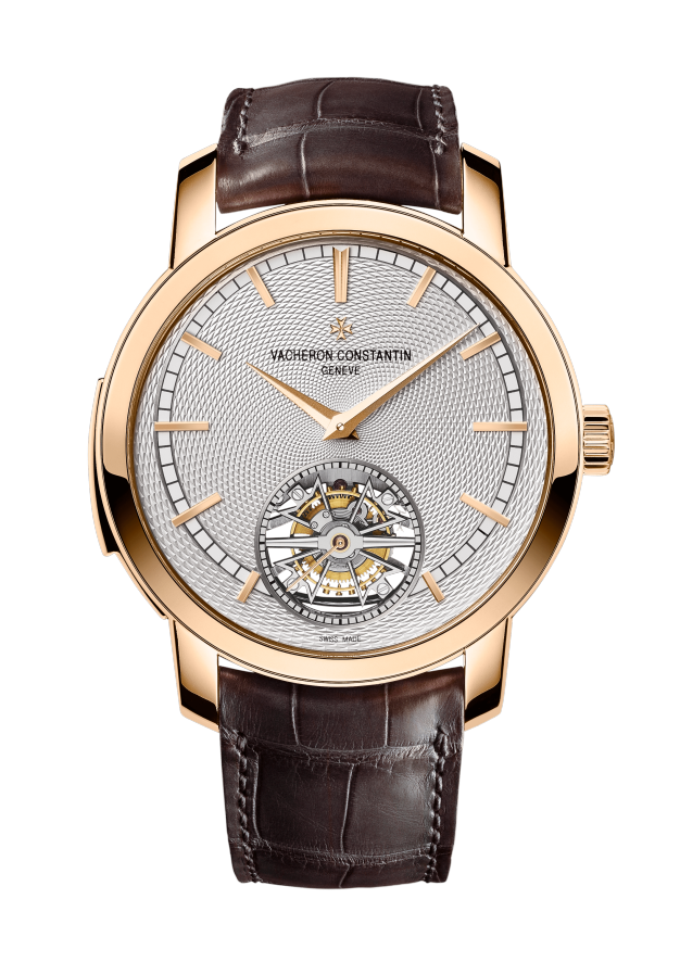 Traditionnelle répétition minutes tourbillon