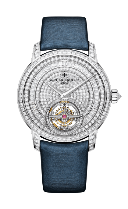 Traditionnelle tourbillon jewellery