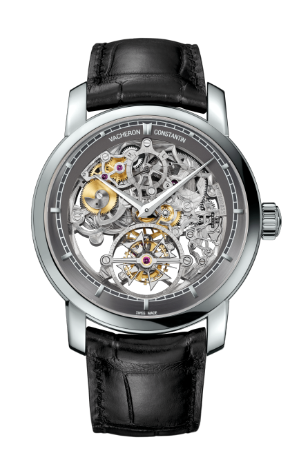 Traditionnelle tourbillon squelette